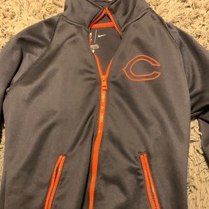 Nike + NFL / Chicago Bears / Dri Fit ZIP Up